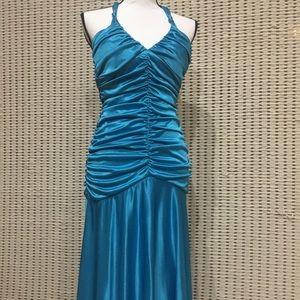 B. Darlin Party Blue Dress Size S-M